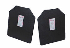 "Tactical Scorpion Level IIIA Body Armor Pair Hard 10"" x 12"" Plates 