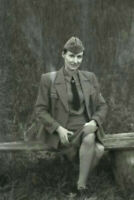 "League German woman Nice officer wermaht WW2 War Photo ""4 x 6"" inch С"