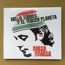 Millo Torres Y El Tercer Planeta Masa Con Masa Pop CD 2006 W/B Puerto Rico MINT