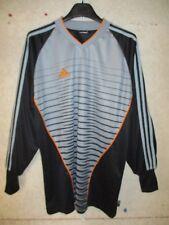 Maillot goal ADIDAS gris jersey shirt trikot camiseta gardien de but L