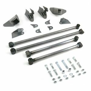 Stage2 Triangulated Rear Suspension Four 4 Link Kit for 73-79 Chevy Truck pro
