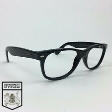 RAY BAN eyeglass BLACK NEW WAYFARER frame Authentic. MOD: RB 2132 55EYE