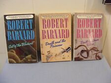 Lot of 3 ROBERT BARNARD - British Mysteries (1980s) - pbs FREE SHIP