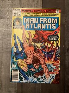 Man From Atlantis #5 Marvel Comics Group