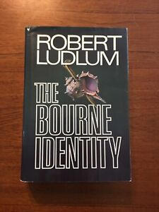 SIGNED The Bourne Identity By Robert Ludlum First Edition 1st Printing 1980