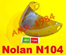VISIERA ORIGINALE NOLAN N104 BLU MT + VISIERA PINLOCK NMS-03L da XL a XXL