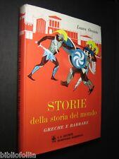 Orvieto Laura - Storie della Storia del Mondo - Giunti 1968 Ill. FIORENZO FAORZI