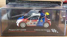 """DIE CAST """" PEUGEOT 207 S2000 CRITERIUM DES CEVENNES - 2009 """" SCALA 1/43"""