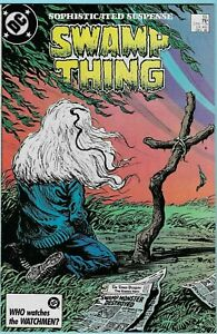 Swamp Thing #55 (1986) by Alan Moore. Batman, Constantine, Phantom Stranger app.