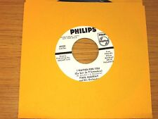 """PROMO LATIN / POP 45 RPM - PAUL MAURIAT - PHILIPS 40550 - """"I WAITED FOR YOU"""""""