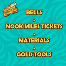 New Horizons Bells, Nook Miles Tickets, Fish Bait - Instant Delivery *UK SELLER*