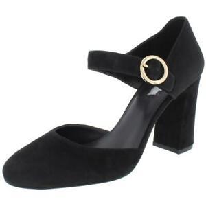 MICHAEL Michael Kors Womens Alana Black Mary Jane Heels 10 Medium (B,M) 2671