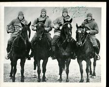 Four Horsemen Notre Dame Crowley Miller Layden Stuhldreher Signed Cert Pic JSA