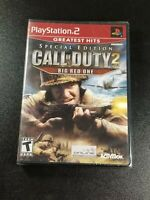 Call of Duty 2 Big Red One Special Edition PS2 pal NTSC USA/Canada NEW+Sealed