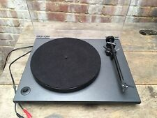 Rega RP1 Cool/Charcoal Grey Turntable Record Deck Ortofon OM 5E Belt Drive