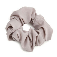 Scrunchie Ring Elastic Solid Bobble Sports Dance Hair Holder Trendy Accessories Gray