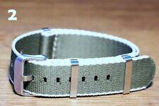 Nylon Nato Watch Straps 20mm high quality UK stock sent next day