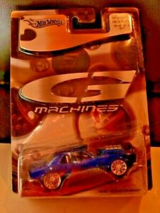 Hot Wheels G Machines 1968 Royal Blue Chevy Camaro 1:50 Scale '68 NIP