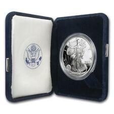 1996-P 1 oz Proof Silver American Eagle (w/Box & COA) - SKU #1067