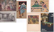 # BILIARDO: 6 CART. / 3 CART. DEL PRIMO '900- 3 CART 1990