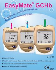 Blood Glucose Monitor - Also CHOLESTEROL & HEMOGLOBIN - Full kit, NEW RRP $235
