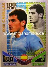 Match Attax World Stars - Iker Casillas - Club 100