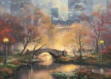 Schmidt Puzzle 59496 1000 Teile Thomas Kinkade - Central Park im Herbst