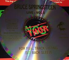 Bruce Springsteen Live Vol. 2 Aust. CD Super Rare Santa Claus Is Coming To Town