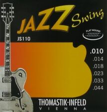 Thomastik JS110 Flatwound Extra Light Jazz Swing Guitar Strings 10 - 44