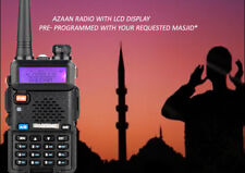 NEW MASJID AZAN RADIO RECEIVER MOSQUE SCANNER PORTABLE ADHAN PREPROGRAMMED