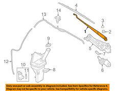HYUNDAI OEM 11-15 Elantra Windshiled Wiper-Front Arm 983103X500