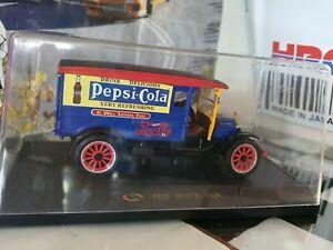 1:32 White Van 1920 Pepsi Cola Delivery Van Hermoso Campion By Signature models