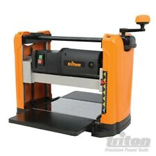 "EX-DEMO TRITON TPT125 1100W THICKNESSER WOODWORK PLANER 317mm (12.5"")WIDE 583534"