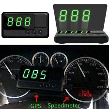 Auto GPS HUD Head up Display Tacho Anzeige Speedometer Speed Alarm Tachometer DE
