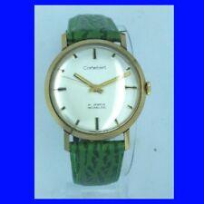 Nuovo di zecca 14k GOLD CORTEBERT Retro 21 Gioiello Orologio da polso 1974