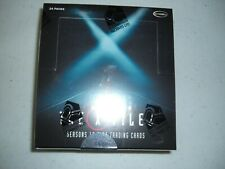 The X FILES Seasons 10 & 11  Trading Cards Unopen Box 24 Packs 3 Auto Hits