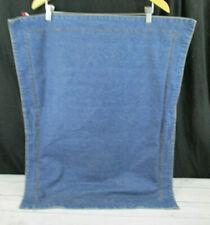 Tommy Hilfiger Blue Jean Standard Pillow Sham Brown Stitch Heavy Weight