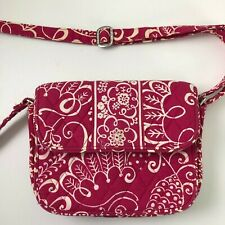 Vera Bradley Bag Purse Pink Adjustable Strap