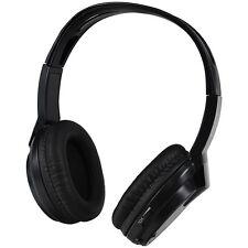 Audiovox HP1 Wireless Headphones, Single Channel, IR Faux Leather Ear Piece