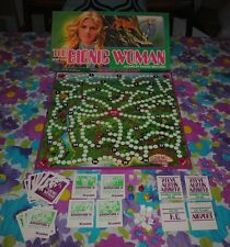 The Bionic Woman Board Game 100% Complete Jaime Sommers Parker Brothers Retro