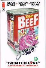 Beef 1 Image Comics Richard Starkings signed with COA