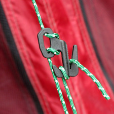 5 stücke 4,5mm Zelt Guy Line Läufer Spannseil Versteller L