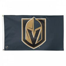 VEGAS GOLDEN KNIGHTS FLAG 3'X5' NHL LOGO BANNER: FAST FREE SHIPPING