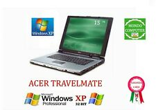 COMPUTER  PORTATILE ACER TRAVELMATE / INTEL CELERON 1,60GHZ / WINDOWS XP PRO