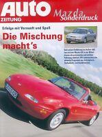 Mazda Sonderdruck Auto Zeitung 1993 1994 Autoprospekt reprint Modellprogramm 626
