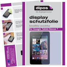 2x Google Tablet Nexus 7 Pellicola Prottetiva Transparente Proteggi Schermo