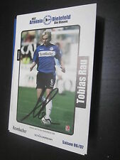 50708 Tobias Rau DFB 06-07 Arminia Bielefeld original signierte Autogrammkarte