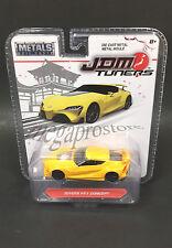 Jada JDM Tuners Toyota FT-1 Concept Diecast Car 1:64 14036 Yellow