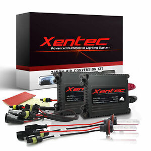 H11 Xentec Xenon Light HID Kit 55W 6000K for Chevy Colorado 2015-2018 Low Beam