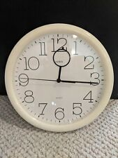 Linden Quartz 10 Inch Diameter Wall Clock-Great Working Condition-Free Shipping